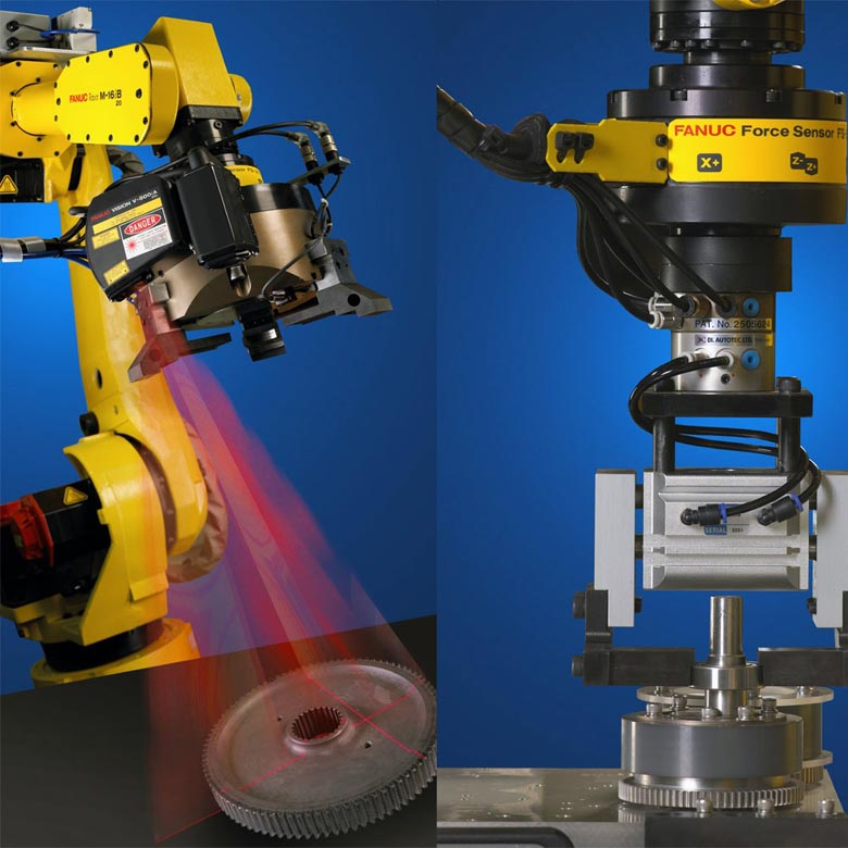 工业机器人分拣及视觉解决方案